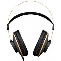 AKG K92 Lukkede Hovedtelefoner, Sort/Guld