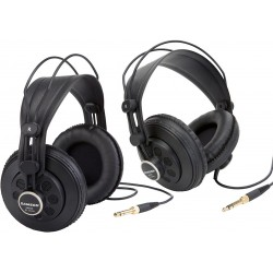 Samson SR850 2-Sæt Studio Hovedtelefoner Sort