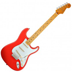 Fender Classic Series '50s Stratocaster, MN, FRD fiesta red