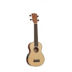 Korala UKS-450E Sopran ukulele med pickup
