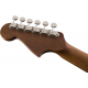 Fender Malibu Player Arctic Gold headstock back