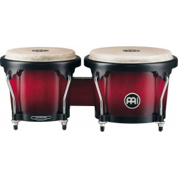 MEINL HB100 WRB Bongo Set Wine Red Burst