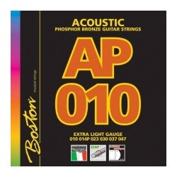 Boston AP010 Phosfor Bronze akustisk guitar strenge