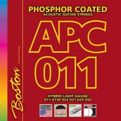 Boston APC011 Phosphor Coated akustisk guitar strenge