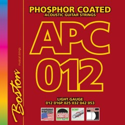 Boston APC012 Phosphor Coated akustisk guitar strenge