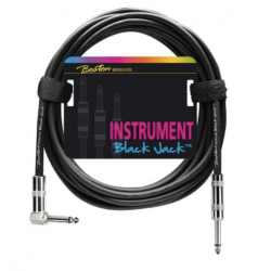 Boston Black Jack Instrument Cable 1m