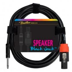 Boston Speaker Cable jack-jack 1 meter, 2x1,5mm