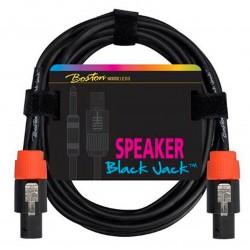 Boston Speaker Cable jack-jack 1 meter, 2x2,5mm