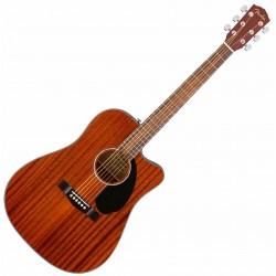 Fender CD-60SCE Dreadnought All-Mahogany WN