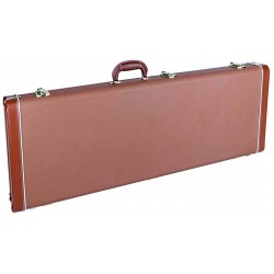 Boston DGC-ST Hardcase Electric Guitar – Brown Tolex