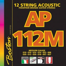 Boston AP112M Phosfor Bronze 12-strenget guitar strenge
