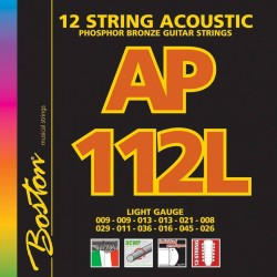Boston AP112L Phosphor Bronze 12-strenget guitar strenge