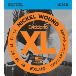 D'Addario EXL110 Nickel Wound Regular Light Gauge
