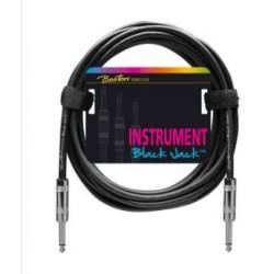 Boston Black Jack Instrument Cable 1m