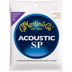Martin MSP3050 SP Custom Light 11-52 Bronze
