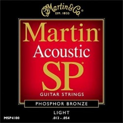 Martin MSP4100 SP Light 12-54 Phosphor Bronze