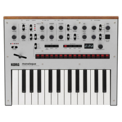 Korg Monologue Silver Analog Synthesizer