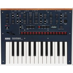 Korg Monologue Blue Analog Synthesizer