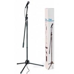 Stagg Mikrofonstativ & kabelsæt