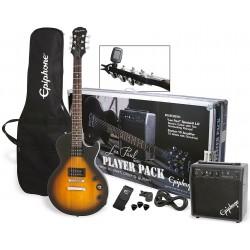Epiphone Les Paul Begynder Guitarsæt Vintage Sunburst