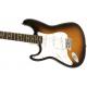 Fender SQ Affinity Strat LH Brown Sunburst IL body 2