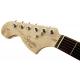 Fender SQ Affinity Strat LH Brown Sunburst IL headstock