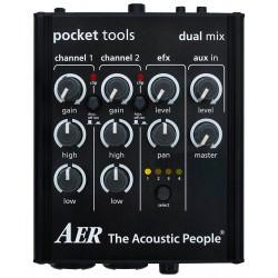 AER Pocket Tools DualMix 2 forforstærker/ mixer