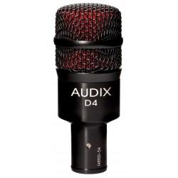 Audix D4 dynamisk instrumentmikrofon