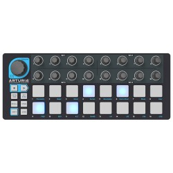 Arturia Beatstep Black Edition step-sequencer