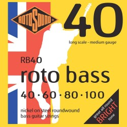 Rotosound RB40-5 Roto Bass 5-strenge 40-125