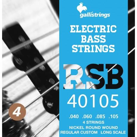 Gallistrings RSB 40105 Elektrisk Bas 4-Strenge Regular