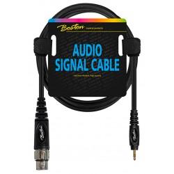 Boston Audio kabel XLR han - Mini stereo 6m