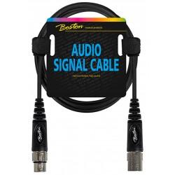 Boston AC-298-150 mikrofonkabel XLR - XLR 1,5 m