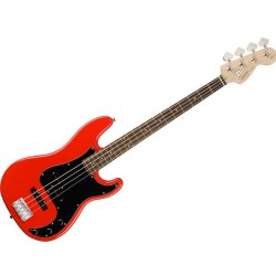 Fender SQ Affinity PJ-Bass Race Red