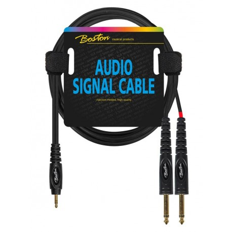 Boston AC-263-900 Mini til Mono Jack kabel 9 m