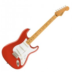 Fender SQ CV 50s Strat Fiesta Red MP