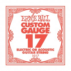 Ernie Ball EB-1017 el-/acoustic guitar .017 enkelt-streng