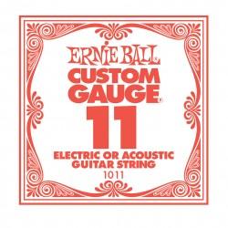 Ernie Ball EB-1011 el-/acoustic guitar .011 enkelt-streng