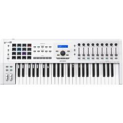 Arturia KeyLab MkII 49 USB midi-controller keyboard hvid Front