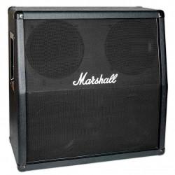 Marshall M412A guitarkabinet vinklet Sort Front