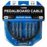 Boss BCK-12 pedalboard kabel sæt 12' kabel 12 connectors Front