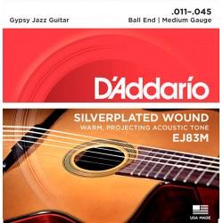 D'Addario EJ83M Gipsy Jazz Strenge