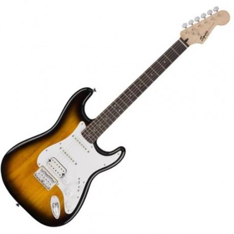 Fender SQ Bullet Strat HT HSS Brown Sunburst LRL