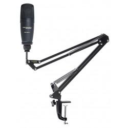 Marantz Pod Pack 1 USB-mikrofon m. Broadcast-stativ og kabel