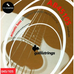 Gallistrings AB45105 4 Strenge Akustisk Bas Medium