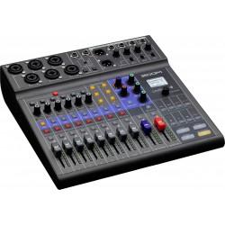 Zoom LiveTrak L-8 8-kanals Mixer/Interface Left
