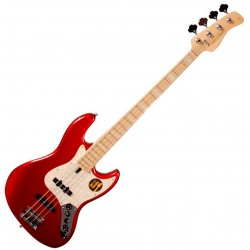 ire Marcus Miller V7 SWAMP ASH-4 2nd Gen Electric Bass bright metallic red