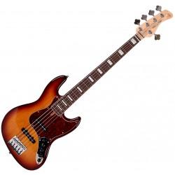 ire Marcus Miller V7 SWAMP ASH-4 2nd Gen el-bas, 4-strings Electric Bass Tobacco Sunburst