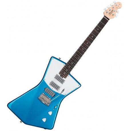 Sterling By Music Man STV60 Vincent Blue el-guitar Front