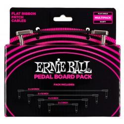 Ernie Ball P06224 Pakke m. Flat Patch Kabler Front